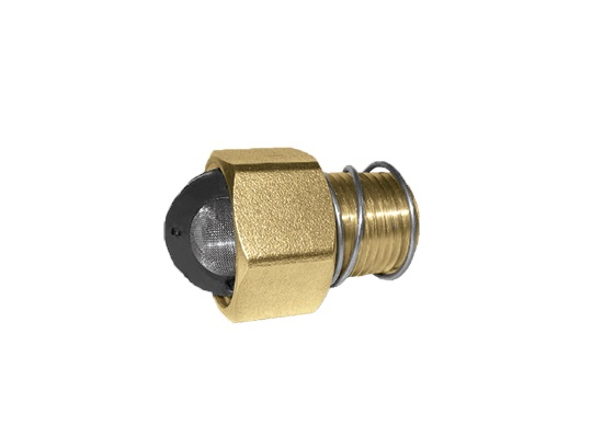 MTM Hydro Brass Garden Hose Inlet w/ Filter and Spring
