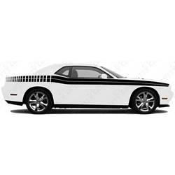 2008-2014 Challenger Body Line Kit With Strobes