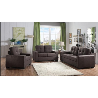 52931 CHARCOAL LOVESEAT