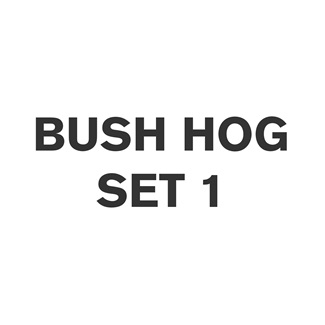 Bush Hog Set 1