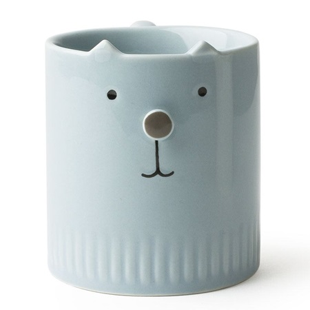 Neko No Hana Blue Cat Mug