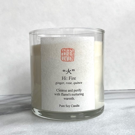 Five Elements Scented Candle - Fire