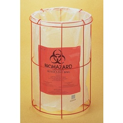 Poxygrid® Biohazard Bag Holder (Bel-Art Scienceware)