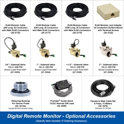 Digital Remote Mount Monitor - Optional Accessories