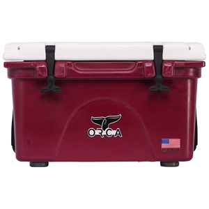 Dark Maroon/White 26 Quart