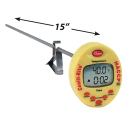Coolit-Rite™ Digital Thermometer with Super-Long Stem (Cooper-Atkins TTM41)