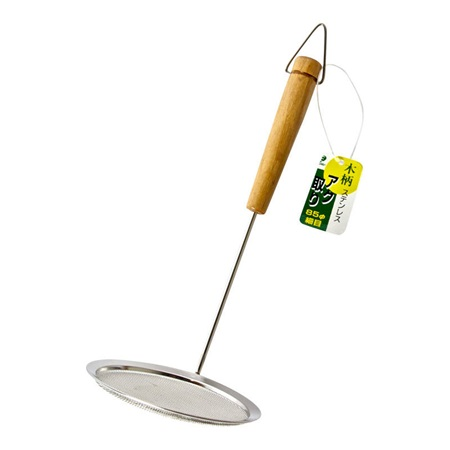 "Mesh Skimmer 3.5"" With Wood Handle"