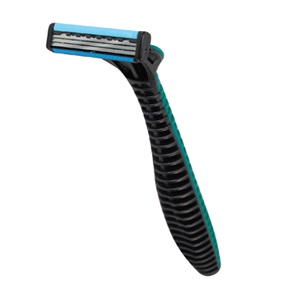 Personna® Triple Blade Razor, Green/Black