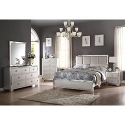 24830Q VOEVIIIE II PLATINUM QUEEN BED
