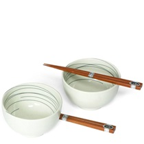 "White Stitch 5"" Bowl Set"