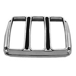 64-66 Tail Light Bezels (Concours, Pair)