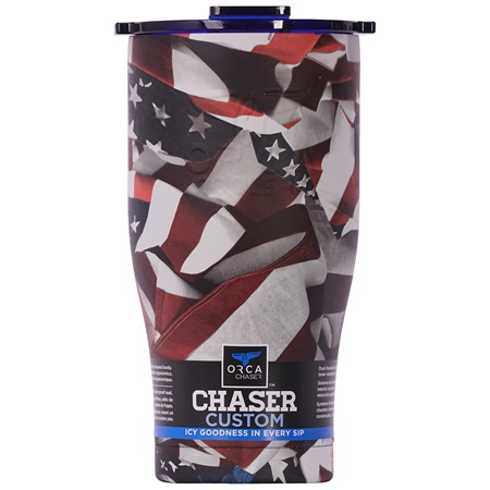 One Nation Traditional/Blue 27oz Chaser