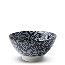 "Blue & White Karakusa 7"" Noodle Bowl"