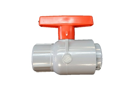 "1"" CPVC Ball Valve with Viton Seals"