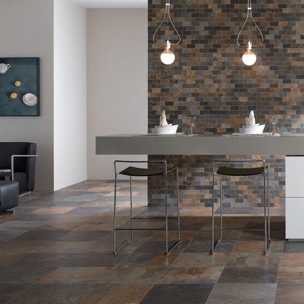 Tierra Sol Ceramic Tile Unicom Natural Slate