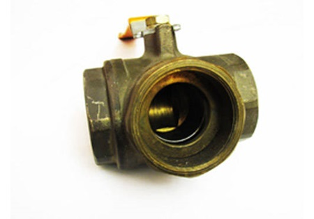 "2"" Brass 3-Way Ball Valve"