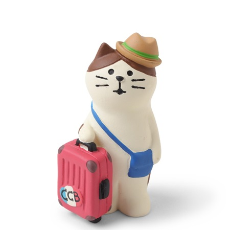 Figurine - Traveling Cat