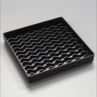 "Carlisle 1102603 Drip Tray NeWave 6"" Square"