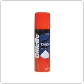 Gillette Foamy Shaving Cream Travel Size
