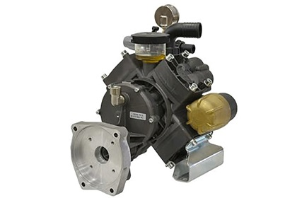 "Comet APS 96 4-Diaphragm Pump | Gear Reduced | 1"" Shaft"