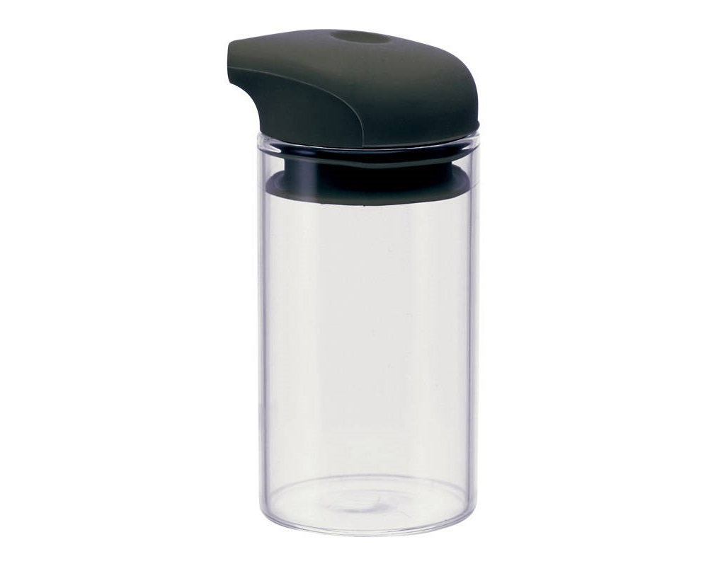 One-Push Soy Sauce Pot - Black Top