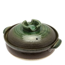 Donabe Casserole Earth Green 9-Go