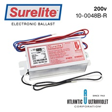 Ballast: Surelite™ Instant Start, 200v + 50/60Hz / 1-Lamp / LED on Board