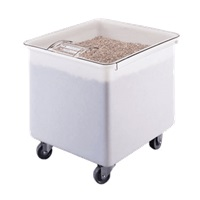 Cambro 32 Gallon White Ingredient Bin