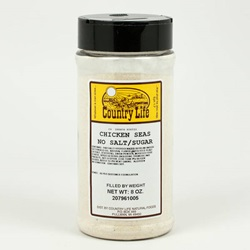 Chicken Seasoning, No Salt or Sugar (8oz)