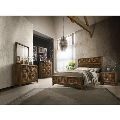 27640Q Delilah Queen Bed