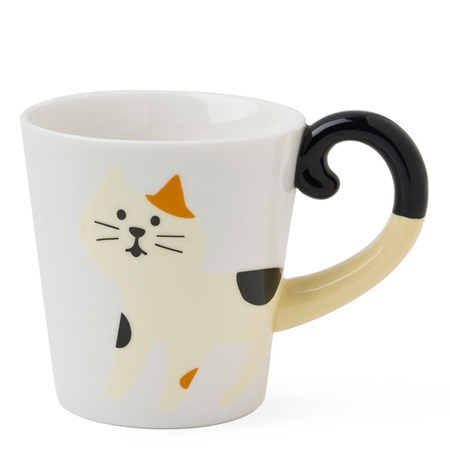 Cat Tail Mug - Calico