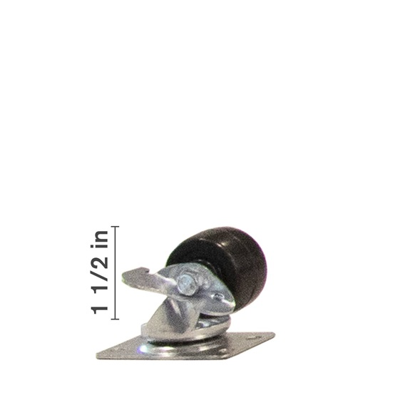 1 1/2 inch Swivel With Side Locking Brake -BOOK