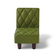 "Figurine 2.25""H Green Chair"