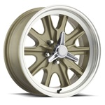 17 x 7 Legendary HB45 Alloy Wheel, 5 on 4.5 BP, 4.25 BS, 5 Lug, Gold Haze