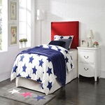 39117 RED QUEEN/FULL HEADBOARD