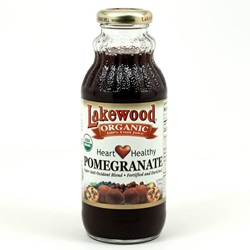 Pomegranate Juice, Pure (Lakewood), Organic  - 12.5oz (Case of 12)