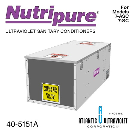 Nutripure Tank Vent Model 7-SC and 7-ASC