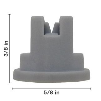 Polyacetal Grey 80° Nozzle Spacing