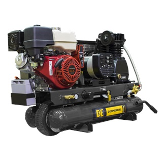 8 Gallon Wheeled Gas Compressor/Generator
